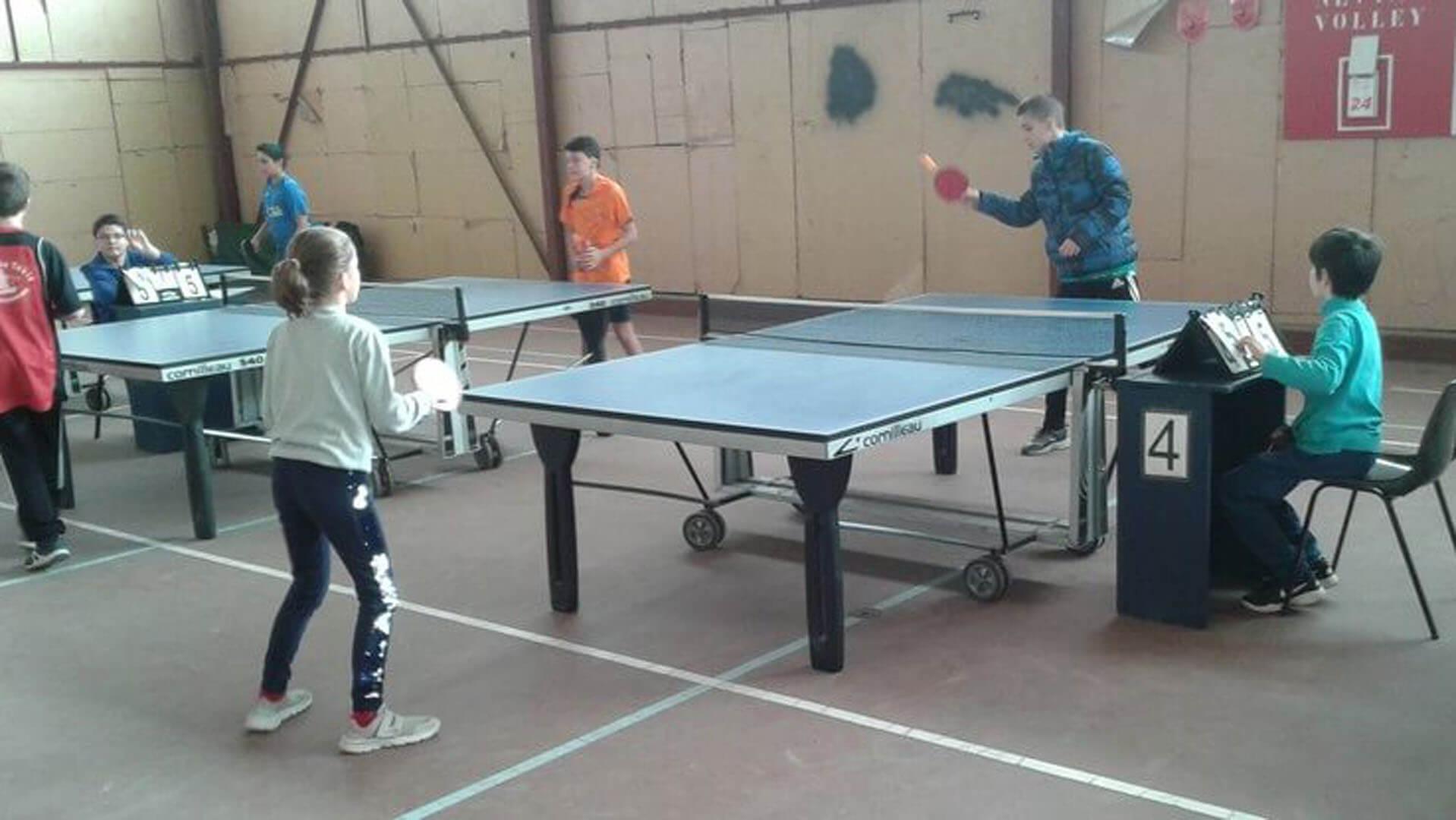 Tennis de Table Névian 2001
