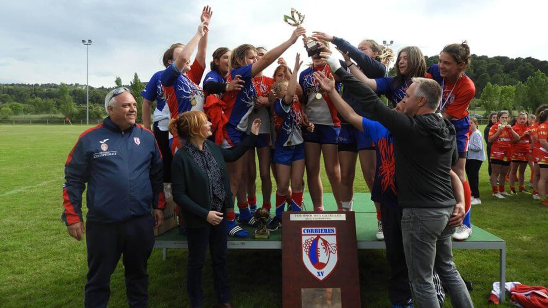 Union Névian Canet Aude Rugby