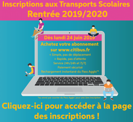 Inscription rentrée 2019 Citibus