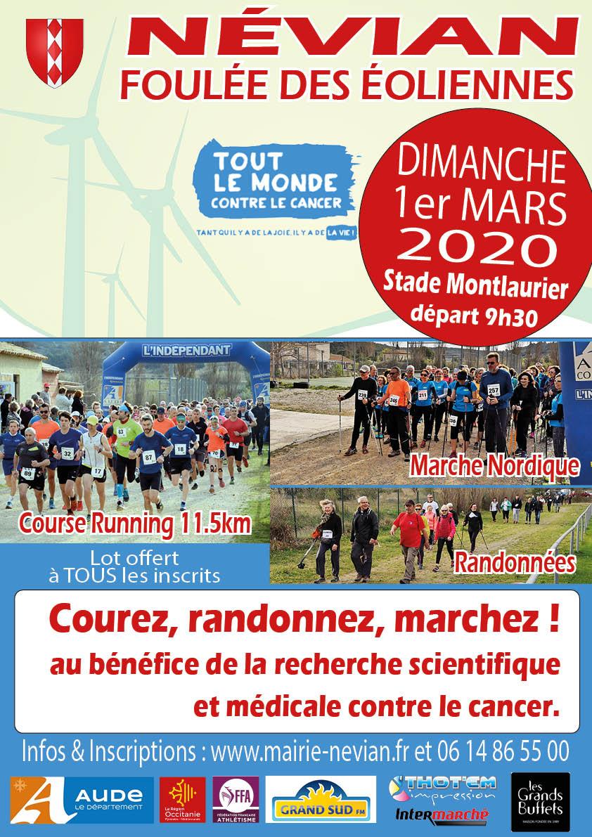 REUNION DES BENEVOLES - FOULEE DES EOLIENNES 2020