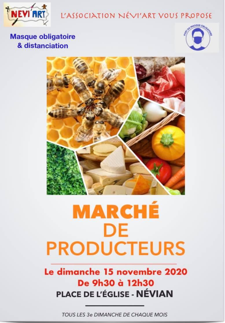 MARCHE DES PRODUCTEURS